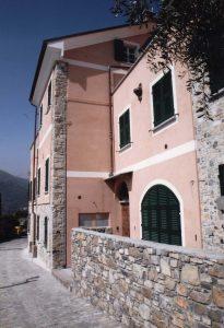 Villa Ardagna vista esterna